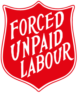 Salvos shield Forced Unpaid Labour